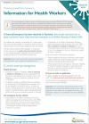 Tas Gov COVID19 Factsheet Information for Health Workers D003 004 final version 1